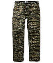 DGK Working Man 4 Tiger Camo Regular Fit Chino Pants