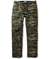 DGK Working Man 4 Tiger Camo Regular Fit Chino Pants