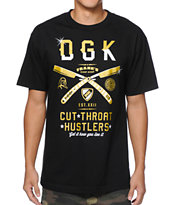 DGK x Frank's Chop Shop Black Tee Shirt