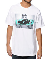 DGK x Madzilla First Love White Tee Shirt