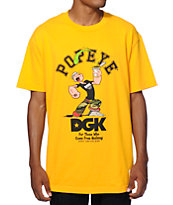 DGK x Popeye Logo T-Shirt