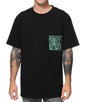DNA Plant Black Pocket Tee Shirt