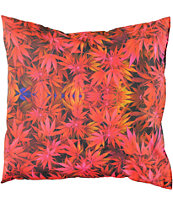 DNA Raspberry Kush Throw Pillow