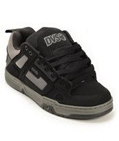 DVS Comanche Black Nubuck Skate Shoe