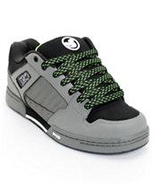 DVS Durham Grey Nubuck Skate Shoe