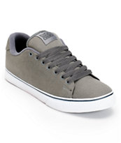 DVS Gavin CT Grey Canvas Skate Shoe
