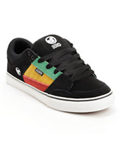 DVS Ignition CT Black Rasta Skate Shoe