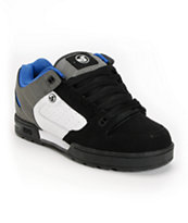 DVS Militia Snow MFM Black, White & Grey Nubuck Shoe