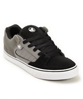 DVS Militia Vulc Black & Grey Skate Shoe