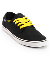 DVS Rico CT Black Mesh H2O Shoes