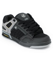 DVS Throttle Black & Grey Skate Shoe