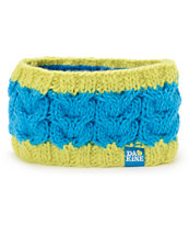Dakine Girls Mabel Blue & Lime Headband