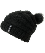 Dakine Girls Scruntch Black Beanie