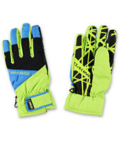 Dakine Impreza Pacific Lime Green 2014 Snowboard Gloves