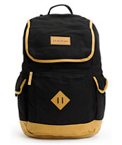 Dakine Outpost Black & Tan Backpack