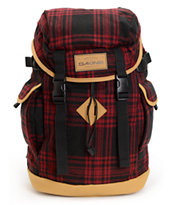 Dakine Sentry Cascade Red Flannel 24L Backpack