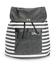Dakine Sophia Black & White Stripe Rucksack Backpack