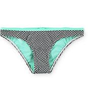 Damsel Mowgli Bow Chevron Hipster Bikini Bottom