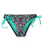 Damsel Tribal Tunnel Tie Side Bikini Bottom