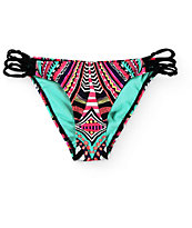 Damsel Wonderland Macrame Side Strap Bikini Bottom