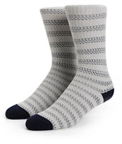 Dark Seas Bilge Stripe Crew Socks