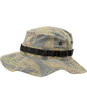 Dark Seas Boonie Woodland Camo Bucket Hat