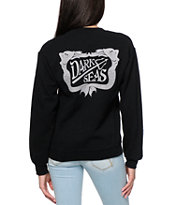 Dark Seas Dock Sirens Baseball Tee Shirt