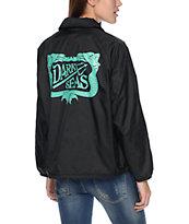 Dark Seas Dock Sirens Black Coaches Jacket