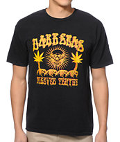 Dark Seas Forever Trippin Black Tee Shirt