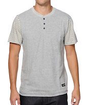 Dark Seas Leeside Henley T-Shirt