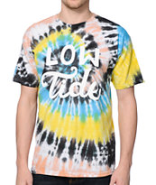 Dark Seas Locals Only Tie Dye Tee Shirt
