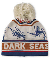 Dark Seas Marlin Pom Beanie