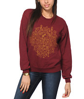 Dark Seas Menagerie Crew Neck Sweatshirt