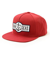 Dark Seas Outdrive Snapback Hat