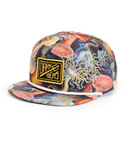 Dark Seas Reefer Snapback Hat