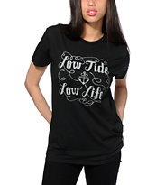 Dark Seas Scrawl Low Tide T-Shirt