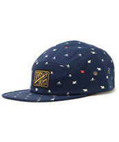Dark Seas Topsail 5 Panel Hat