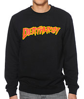 Deathwish Death-A-Mania Black Crew Neck Sweatshirt