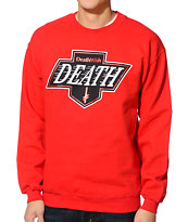 Deathwish Death Kings Red Crew Neck Sweatshirt