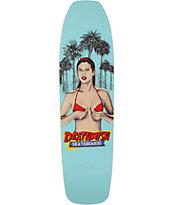 "Deathwish Death Times 8.5"" Skateboard Deck"