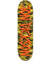 Deathwish Dickson Gang Name Camo 8.0 Skateboard Deck