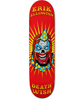 Deathwish Ellington Clowns 8.25 Skateboard Deck