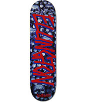 "Deathwish Ellington Gang Name 8.12"" Skateboard Deck"