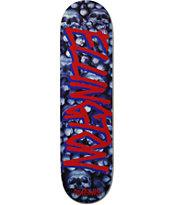 """Deathwish Ellington Gang Name 8.12"""" Skateboard Deck"""