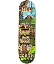 Deathwish Furby Jungle 8.25 Skateboard Deck