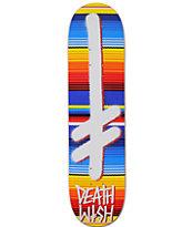 "Deathwish Gang Logo Blanket 7.75"" Skateboard Deck"