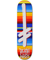 Deathwish Gang Logo Blanket 8.12 Skateboard Deck