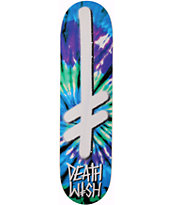 Deathwish Gang Logo Tie Dye 8.0 Skateboard Deck