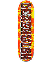 "Deathwish Great Death Fire Marble 8.12"" Skateboard Deck"