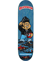 "Deathwish Greco Greasy 8.0"" Skateboard Deck"